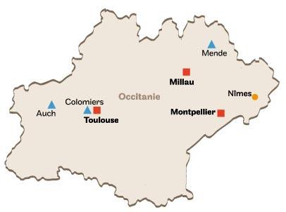 Centres Cnam en Occitanie